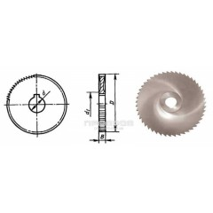 Фреза дисковая отрезная D=125х3,0