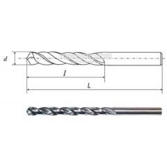 Сверло с цилиндрическим хвостовиком d=17,0 короткое
